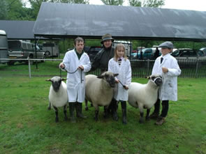 Shropshire Show 2014 Junior members