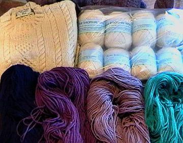 Shropshire sheep, Shropshire wool, knitting yarn