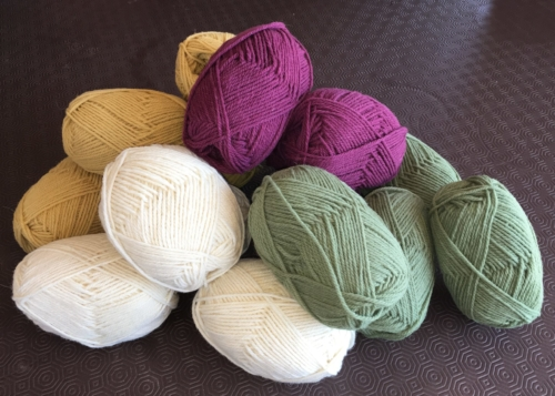Shropshire sheep, wool, knitting yarn
